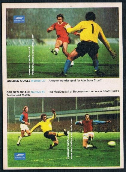 1970 Cleveland Petrol Johan Cruyff STILL IN PAIR! with WHU Bournemouth